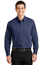 Load image into Gallery viewer, Port Authority  Tonal Pattern Easy Care Shirt