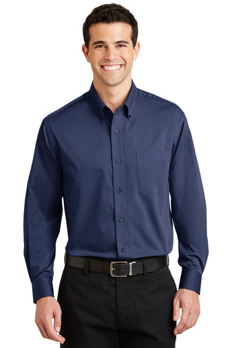 Port Authority  Tonal Pattern Easy Care Shirt