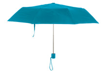 "Load image into Gallery viewer, THE ONE MINI FOLDING MANUAL OPEN 42"" ARC UMBRELLA"