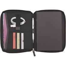 Load image into Gallery viewer, Pedova RFID Jr. Zippered Padfolio
