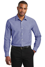 Load image into Gallery viewer, Port Authority  Slim Fit Super Pro  Oxford Shirt