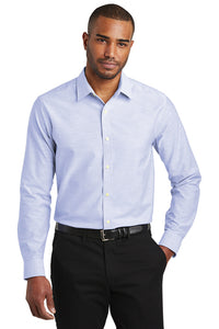 Port Authority  Slim Fit Super Pro  Oxford Shirt