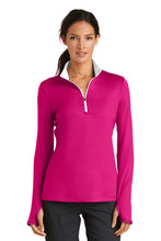 Load image into Gallery viewer, Nike Ladies Dri-FIT Stretch 1/2-Zip Cover-Up