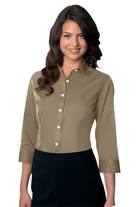 Van Heusen Women's Easy-Care Dress Twill Shirt