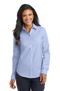 Port Authority  Ladies Super Pro  Oxford Shirt