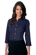 Load image into Gallery viewer, Van Heusen Women's Easy-Care Dress Twill Shirt
