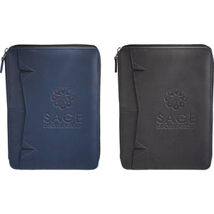 Pedova RFID Jr. Zippered Padfolio