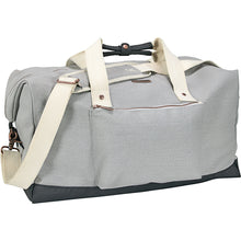 "Load image into Gallery viewer, Cutter & Buck® 19"" Cotton Weekender Duffel"