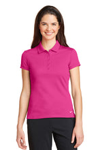 Load image into Gallery viewer, Nike Ladies Dri-FIT Solid Icon Pique Modern Fit Polo