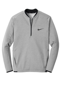 NIKE THERMA-FIT TEXTURED FLEECE 1/2 ZIP
