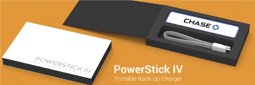 POWER STICK IV PORTABLE BACK UP CHARGER