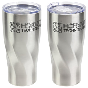 20 OZ HELIX VACUUM INSULATED STAINLESS STEEL TUMBLER