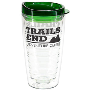 16 OZ REEF TRITAN  DOUBLE WALL TUMBLER WITH TRANSLUCENT LID