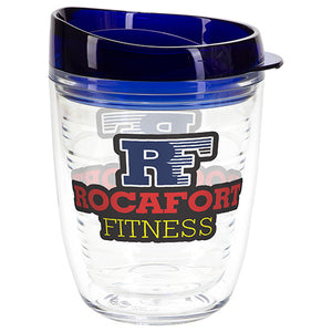 12 oz. Reef Tritan Double Wall Tumbler With Translucent Lid