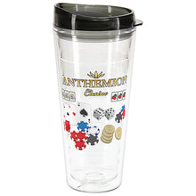 Load image into Gallery viewer, 22 OZ SEABREEZE TRITAN DOUBLE WALL TUMBLER WITH TRANSLUCENT LID
