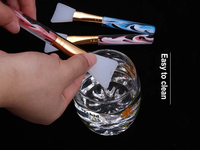 Silicone Mask/Make-Up Brush with Magic Acrylic Handle