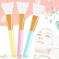 Professional Silicone Facial Mask Brush Soft Silicone Makeup Brush