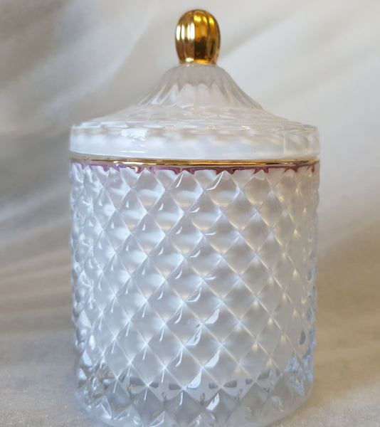 Elegance Glass Candle