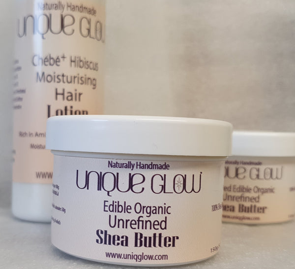 Edible Organic Unrefined Shea Butter