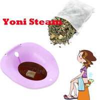 Yoni Steam Toilet Seat Bowl For Herbal Steaming, Healing With Yoni Steam Herbs