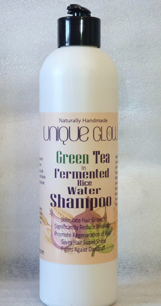 Green Tea In Fermented Rice Water Shampoo