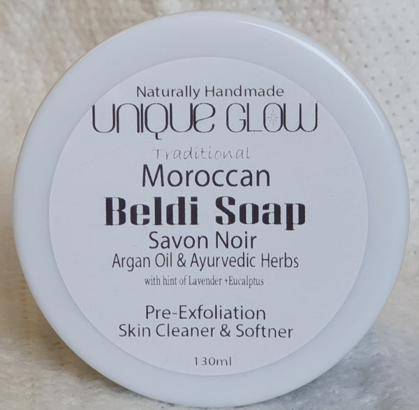 Traditional Moroccan Beldi Soap with Argan Oil