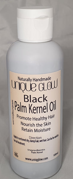 Food Grade Undiluted 100ml Black Palm Kernel Oil- Raw Black Palm Kernel Oil (Uden)