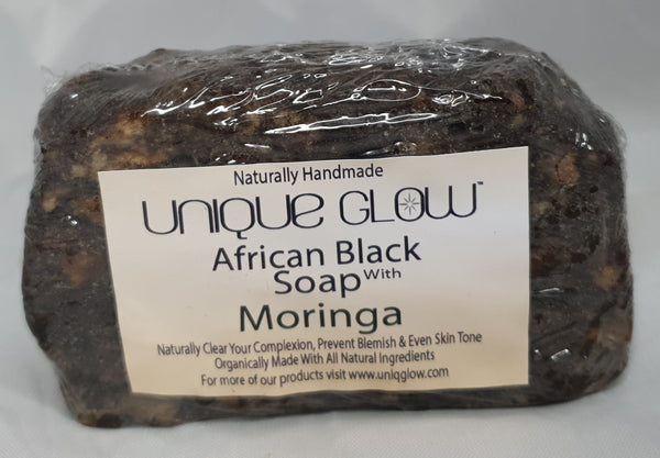 African Black Soap With Moringa