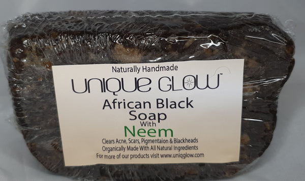 African Black Soap With Neem