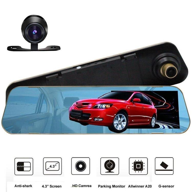 4.3 inch Full HD 1080P Dash Cam Car Video Camera