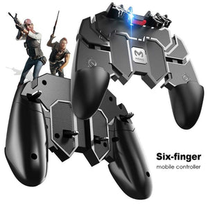 Six-Finger Shooting Game Gamepad/Controller