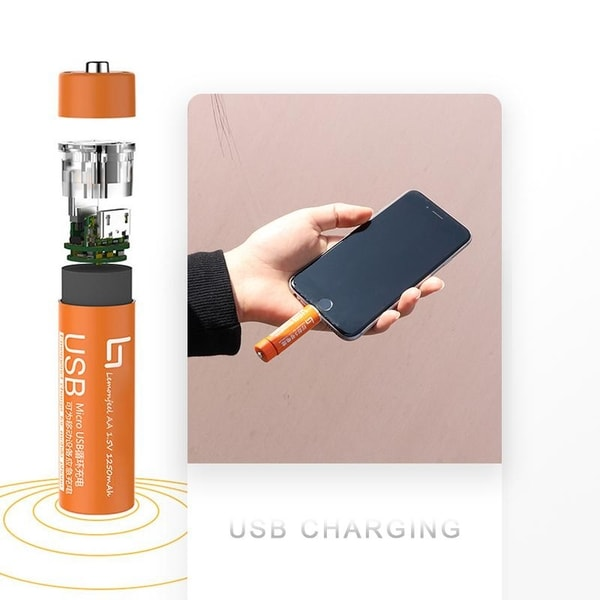 AA Battery Power Bank