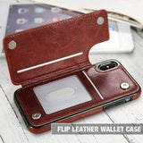 4 in 1 Luxury Leather Case For Iphone