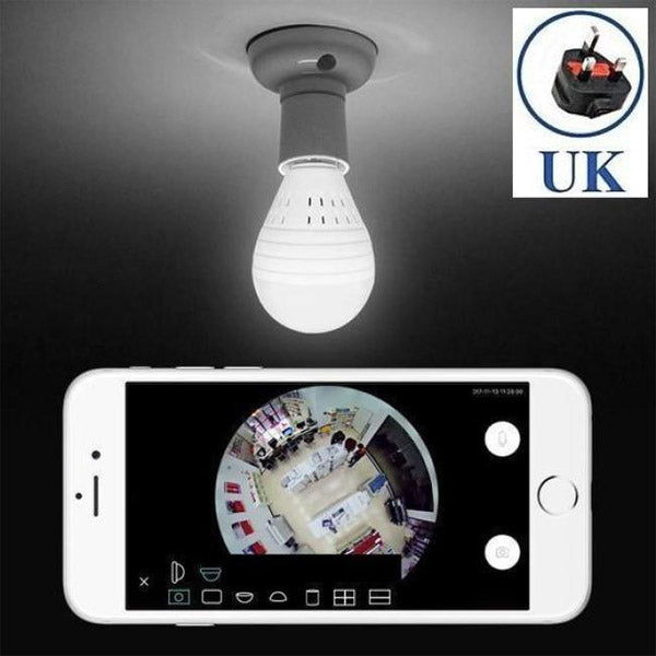 Droacam 360º Surveillance Camera Bulb UK