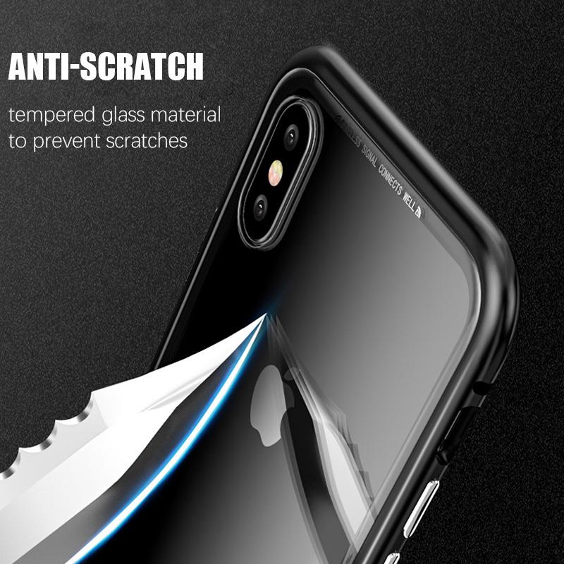 Luxury Magnetic Absorption Metal Case for IPhone