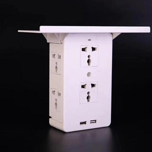 Multi Plug Outlet Extender Rack