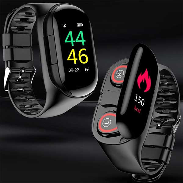 Smartwatch W/ Bluetooth Earphones