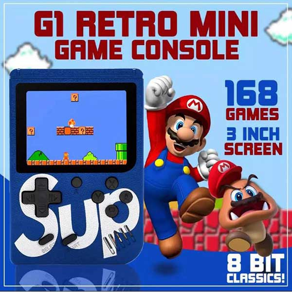 168-in-1 Mini Game Console