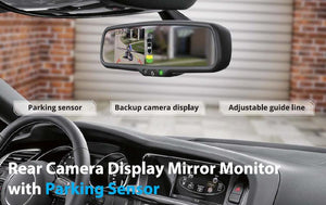 4G Dash Cam Car Camera DVR GPS Bluetooth Dual Lens Rearview Mirror Video Recorder HD 1080p