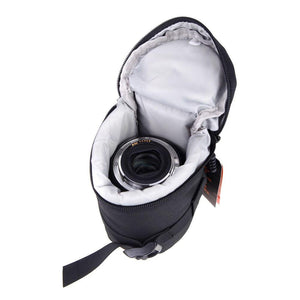 Padded Camera Lens Protector with Belt Attachment