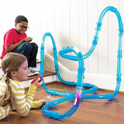 DIY Remote Control Pipe Racing Track Set