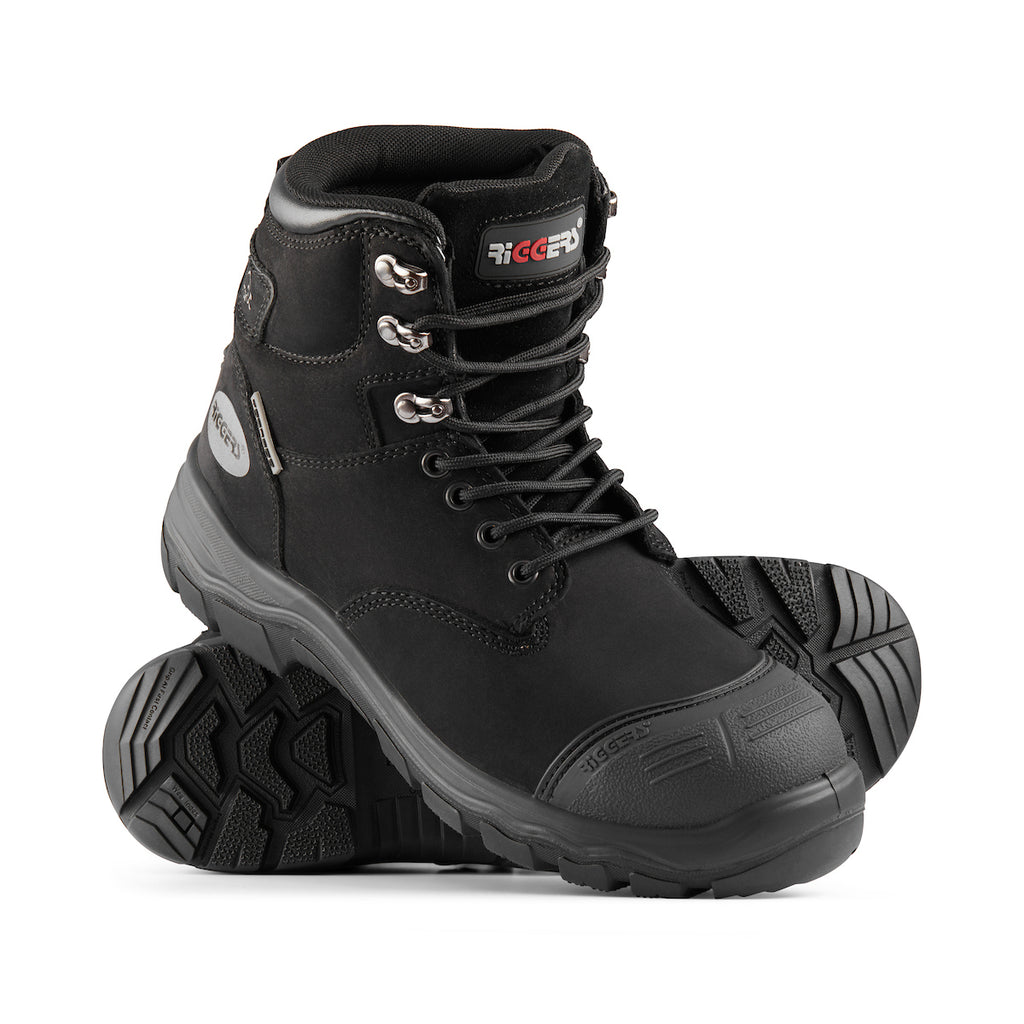 TORNADO V2 LACE UP SAFETY BOOT (BUMP CAP)