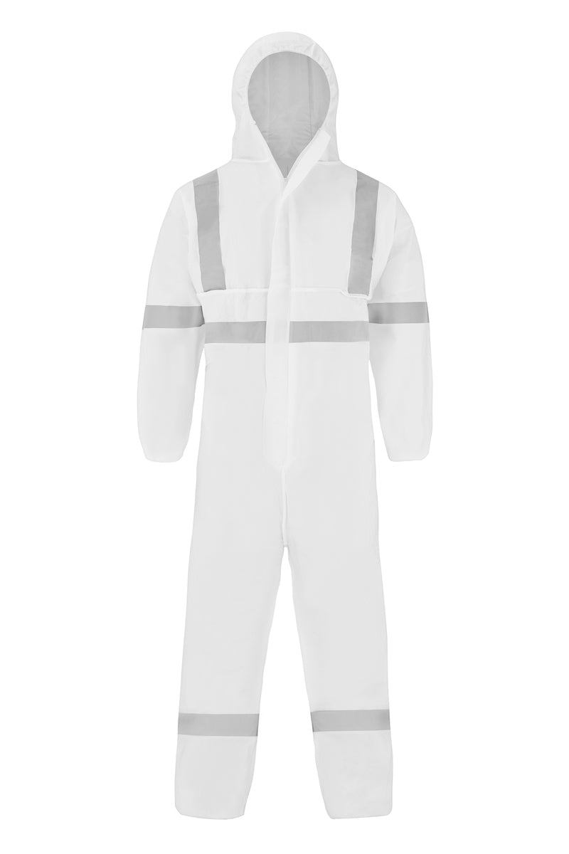 MICROPOROUS COVERALL (REFLECTIVE)