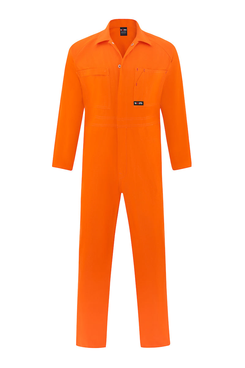 HIGH VIS HEAVY WEIGHT COTTON DRILL OVERALL