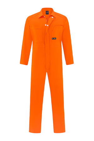 HIGH VIS LIGHT WEIGHT COTTON DRILL OVERALL-Riggers Online Store