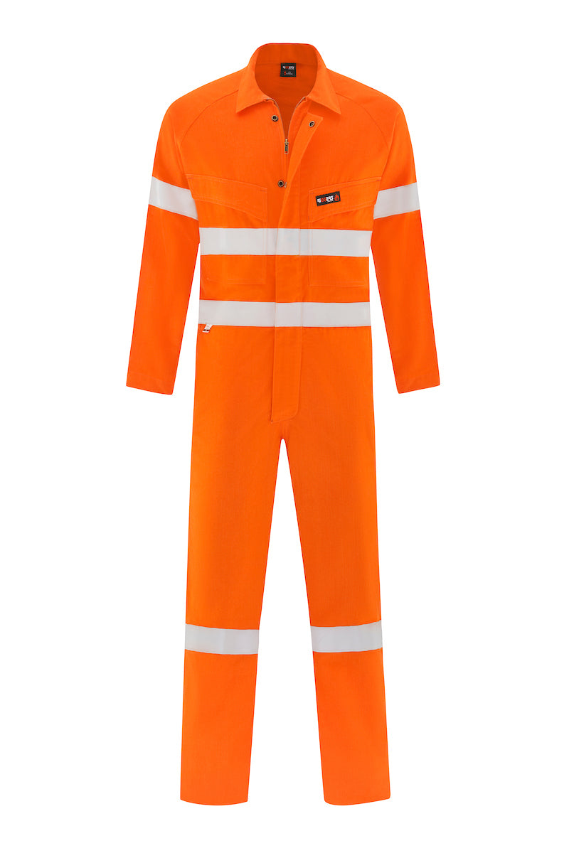 INDURA ULTRASOFT FIRE RETARDANT LIGHT WEIGHT HRC1 OVERALL (FR REFLECTIVE)