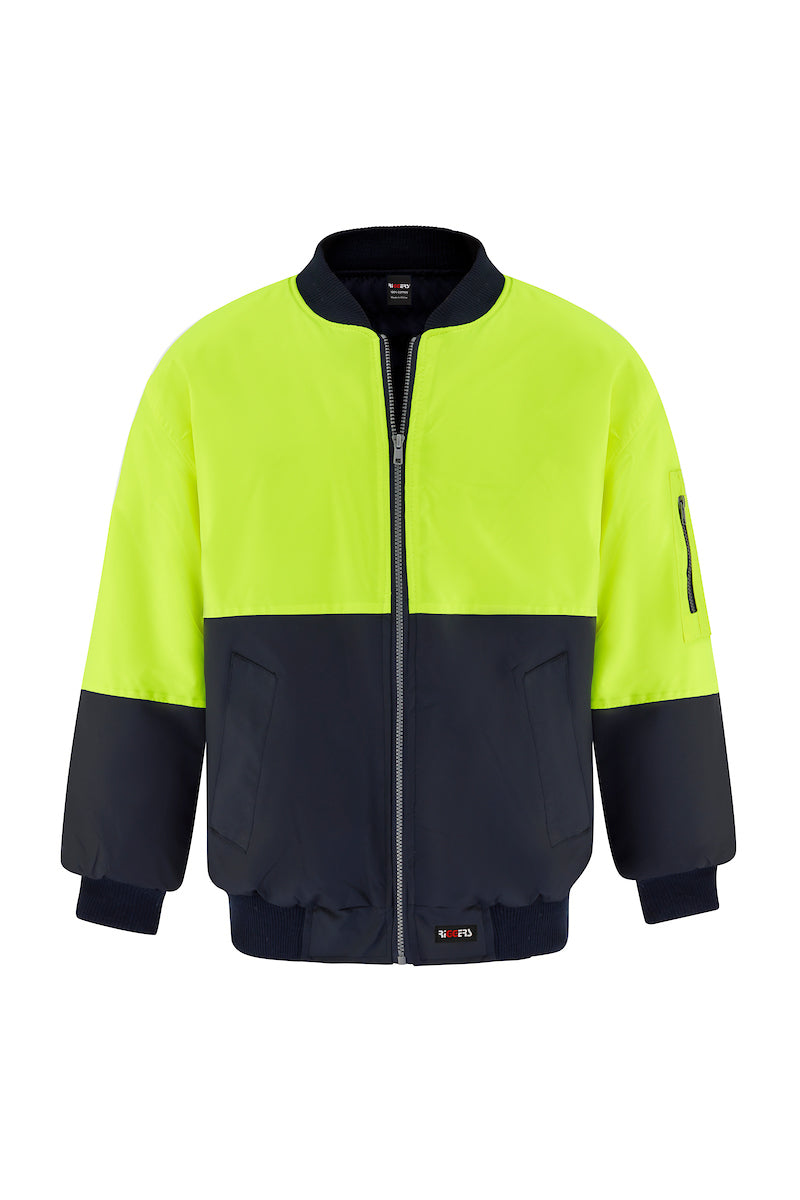 POLYESTER PU COATED FLYING JACKET (TWO TONE)-Riggers Online Store