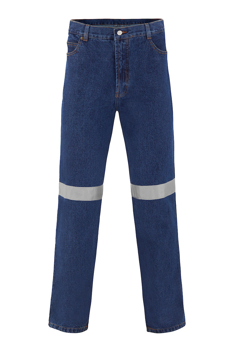 COTTON DENIM JEANS (REFLECTIVE)-Riggers Online Store
