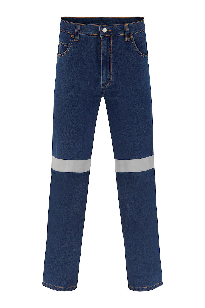 STRETCH DENIM JEANS (REFLECTIVE)-Riggers Online Store