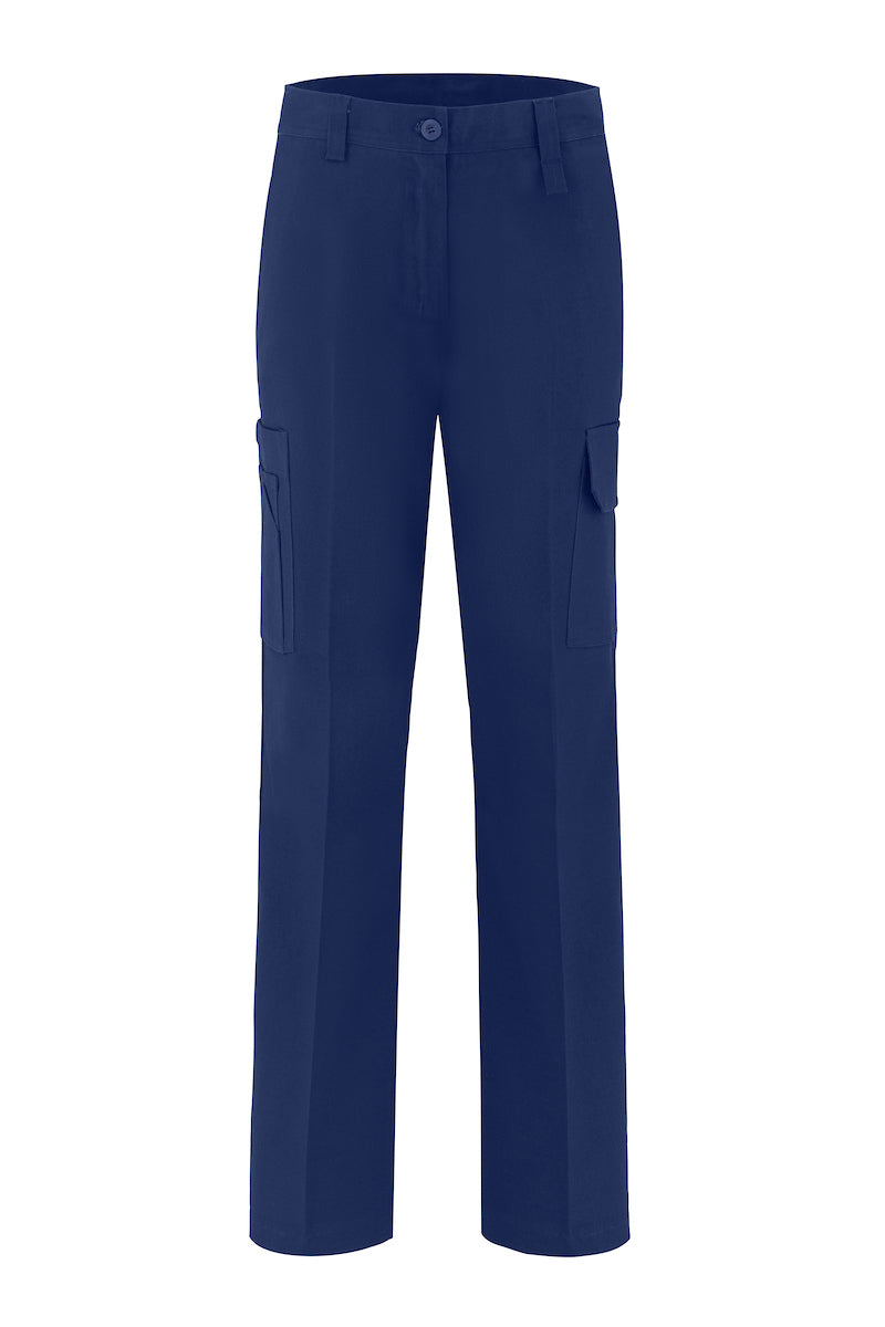 LADIES HEAVY WEIGHT COTTON DRILL TROUSERS